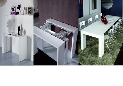 Foldable Dinner Table Amazing 17 Furniture For Small Spaces  Folding Dining Tables & Chairs Decorating Inspiration