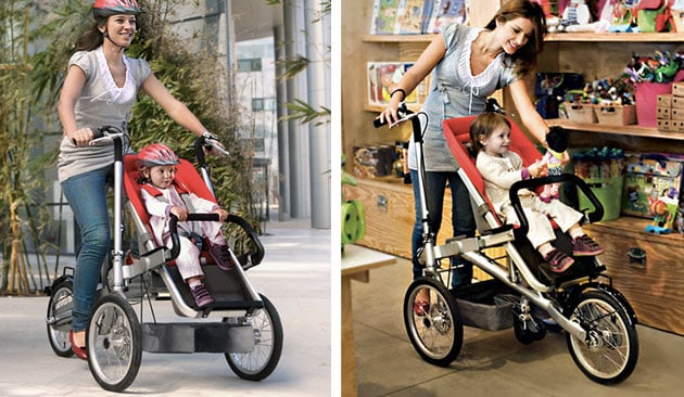 Stroller and bike in one