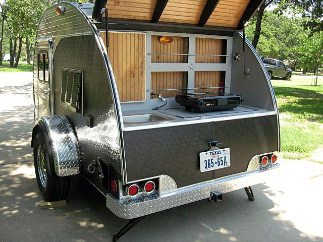Teardrop Trailer Small Compact Campers Godownsize Com
