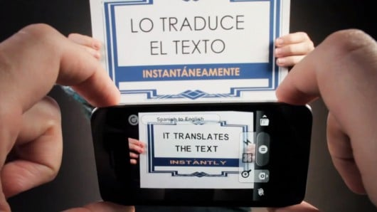 App translates text in video – in real time!
