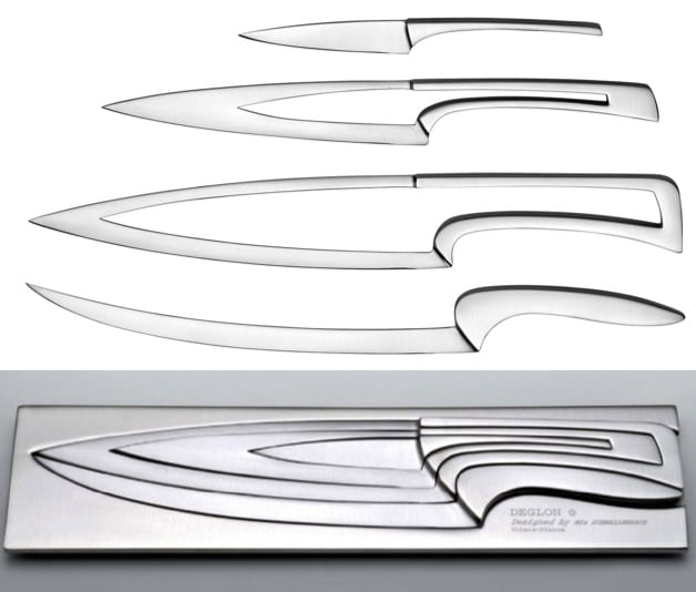 Nested Knives - Deglon Nested Knives Are So Elegant