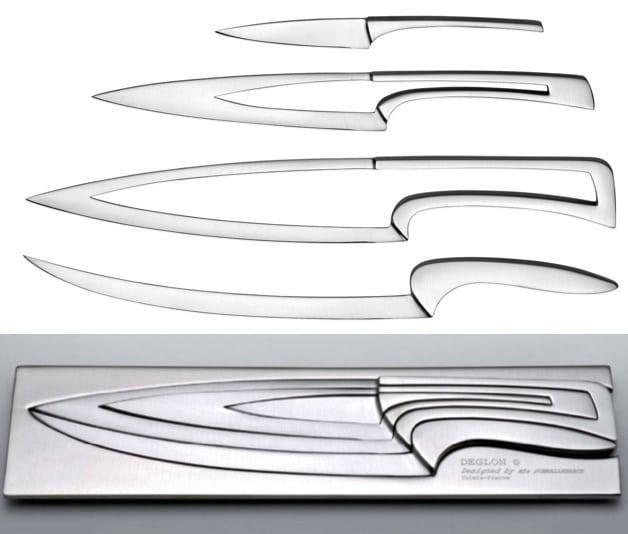 Deglon Meeting knives - 4 in 1