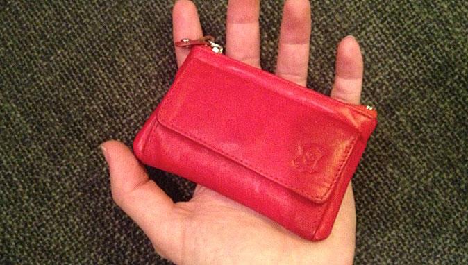 Tiny purse – minimalist style