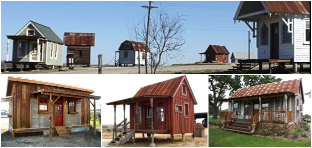 Texas tiny houses building the future with the past for Cost to build a house in texas
