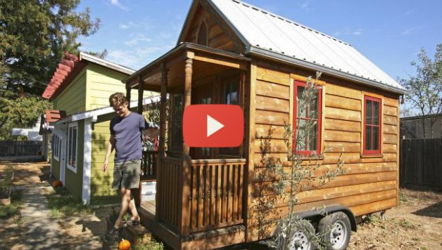 Visit Jay Shafer in his 89 square feet house