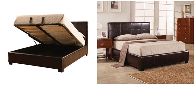 You Can Get These Storage Beds With The Lift Mechanism Either At Headboard Or On Side Depending Space Have In Your Room