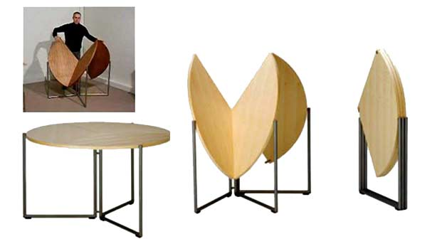 8) Folding Dining Table Furniture For Small Spaces. Table For Small Spaces