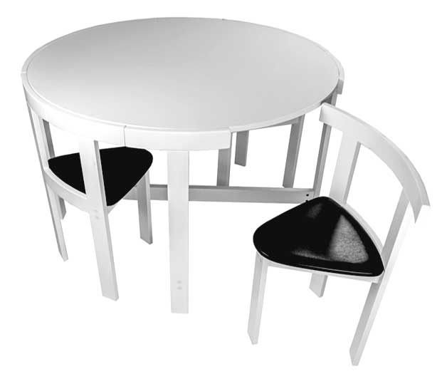 17 Furniture For Small Spaces Folding Dining Tables Amp Chairs