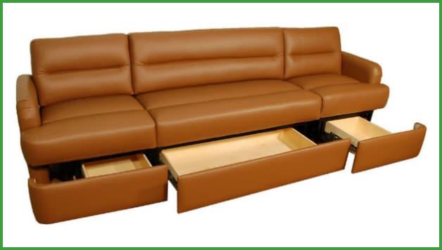 Sofas with storage – 2 options