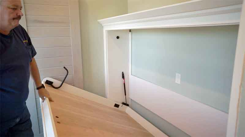Murphy Bed Kit Great For Build Your Own Wall Bed We Did