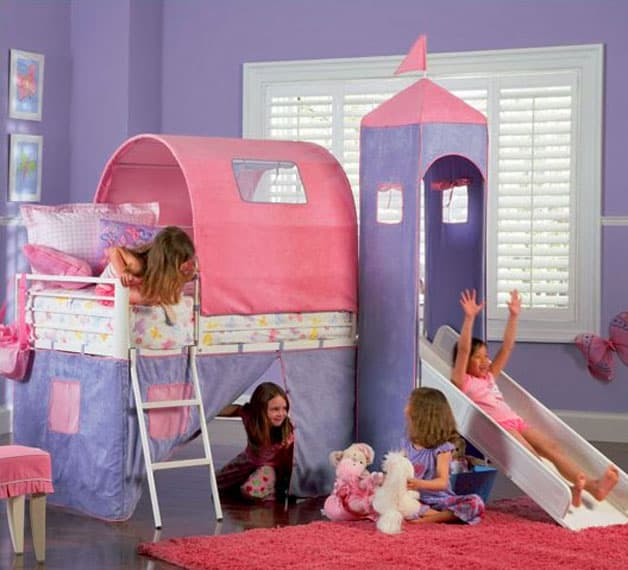 Bunk Beds Loft Beds With Slide Great Affordable Ideas