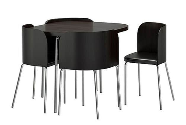 Small dining tables for 2 our top 6 dining tables online for Small dining table with 4 chairs