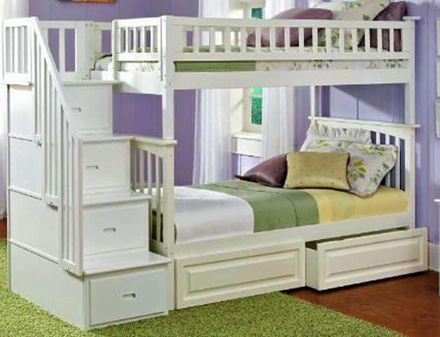 Image Result For Bunk Beds With Storage And Desk