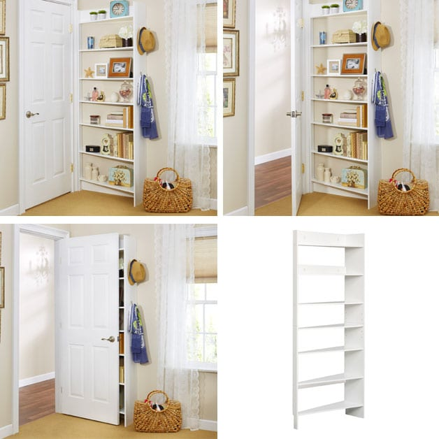 Charmant Behind Door Shelf