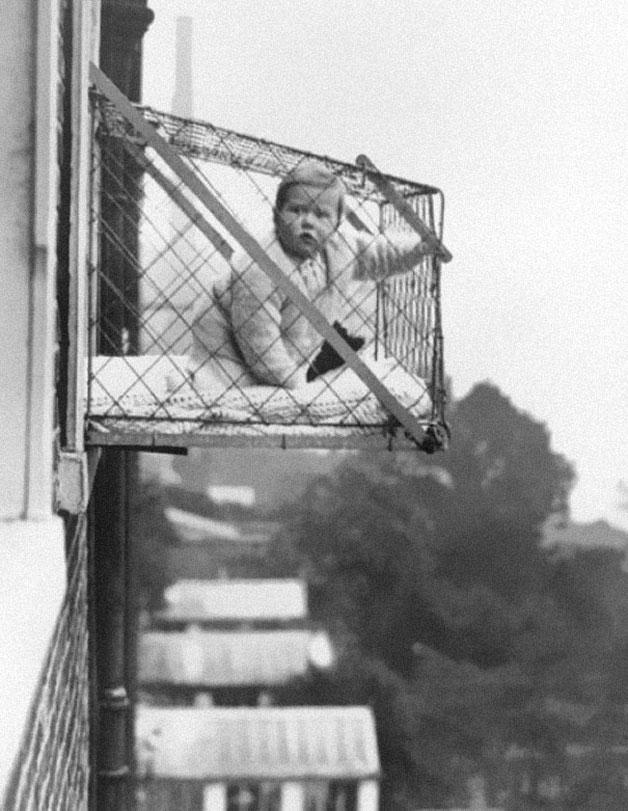 children-window-cage