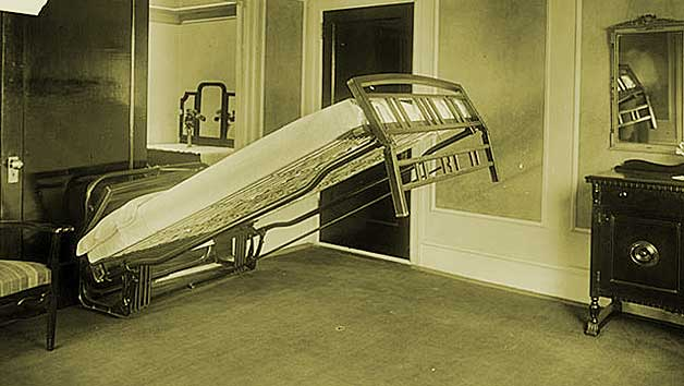 Surprising solutions from early 1900 (for small space living)
