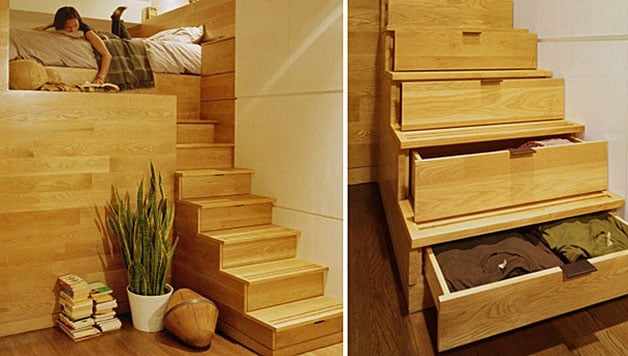 Tiny House Furniture - 9 ideas for Small Homes / Cabins: https://www.godownsize.com/tiny-house-furniture-small-space/