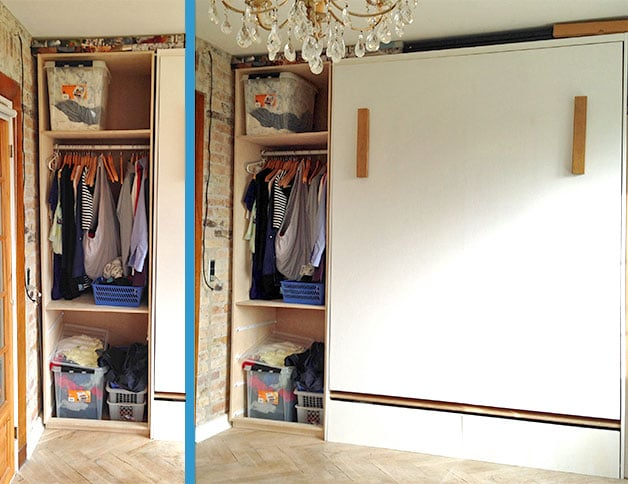 Tall Closet - To the Ceiling & Small House Storage Ideas: 8 Great Tips for Small Spaces