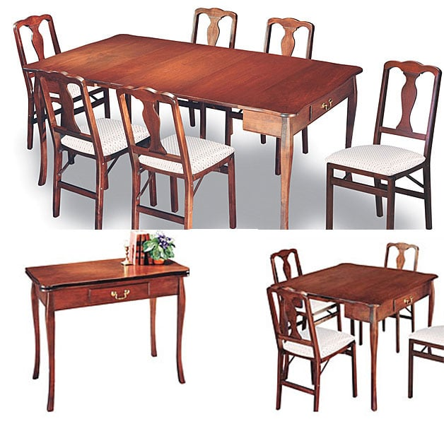 Extendable dining table for cheap