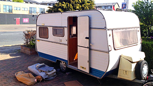 VIDEO: Remodelling a 70's camper – Part 1