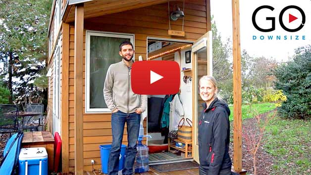 Living in a Tiny House – Meet Alek Lisefski & Anjali (Video)