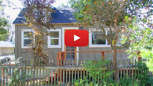 Testing a tiny house on wheels in California