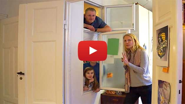 Family of 4 in 700 sq ft – Optimized apartment (Video)