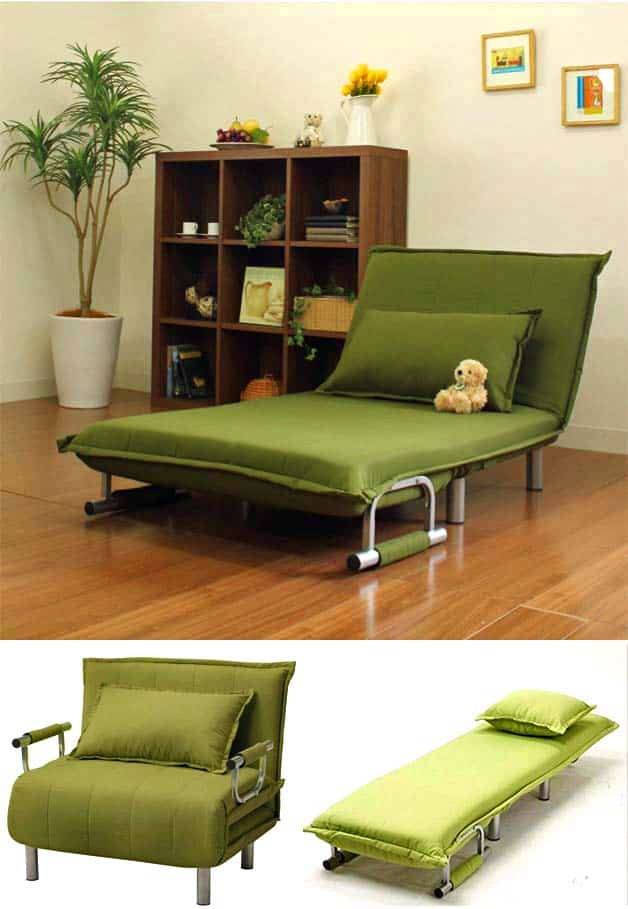 Sofa beds for small rooms thesofa for Chaise guest house