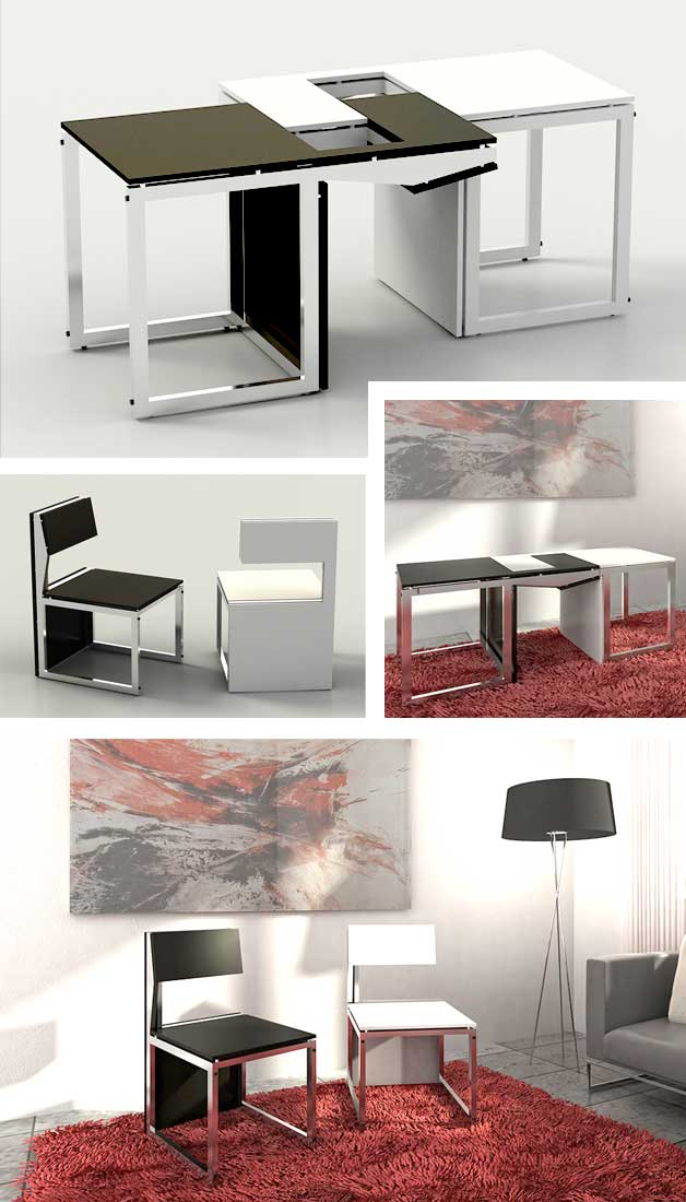 7 Clever Chairs For Small Spaces Multi Function