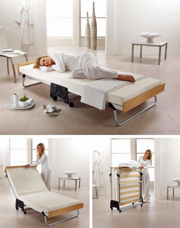 Fancy folding bed