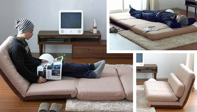 Folding sofas  beds and chaise lounges for small spaces. Tiny House Furniture   9 ideas for Small Homes   Cabins