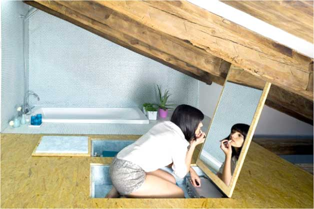 Mirrors and small homes - Creative ideas - GoDownsize.com