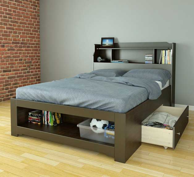 Trundle Beds W Storage Guest Beds Godownsize Com