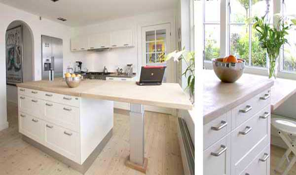 Smart kitchen counters for the small kitchen space