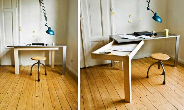 Image Result For Folding Office Desk