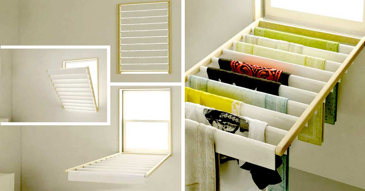 7 Effective Ways To Dry Clothes In Apartments With Pictures Godownsize Com