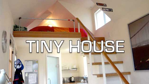 tiny house tour one night visit - Brick House 2016