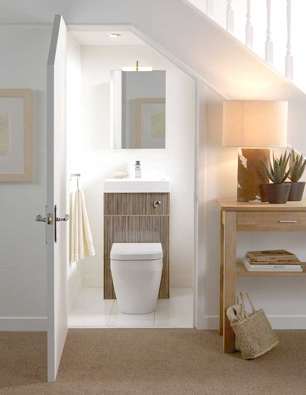 toilet stairs - Bathroom Designs Under Stairs