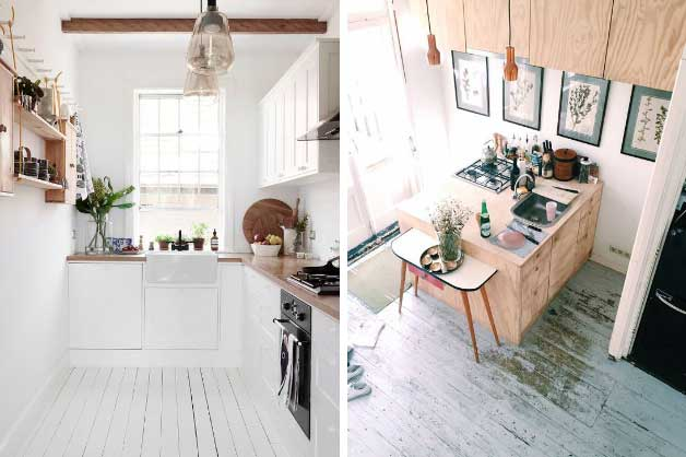 Tips: Interior Ideas For The Very Small City-apartment Kitchen
