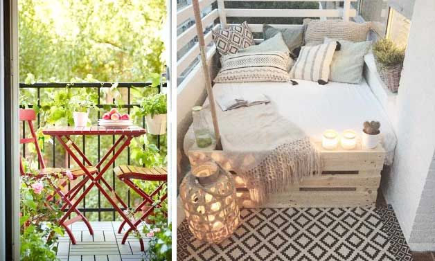 Small Balconies: 9 Decorating Ideas For The Small Balcony ...