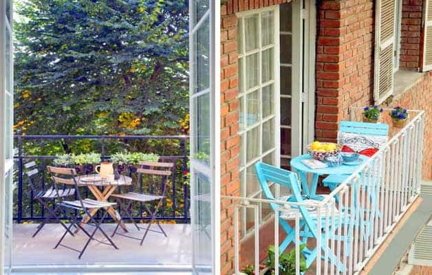 Tips to Decorate the Small Balcony in the City