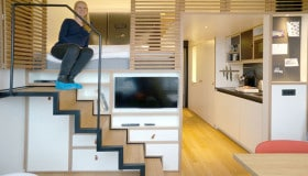 Zoku, Tiny Studio Apartment building, Amsterdam