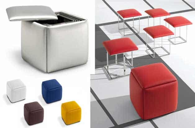 ottoman with seating for 5 people popping out