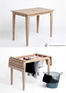 Space Saving Furniture Doesnu0027t Have To Be Small Pieces Of Furniture. It  Could Also Be Multifunctional Furniture. One Example Is This Table By  Nordvink, ...