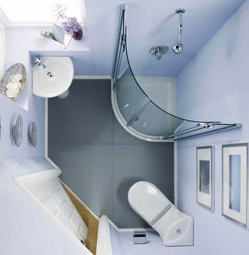 Bathroom layout
