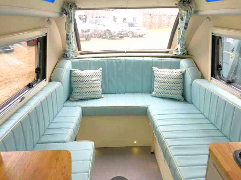 sofa area of barefoot camper