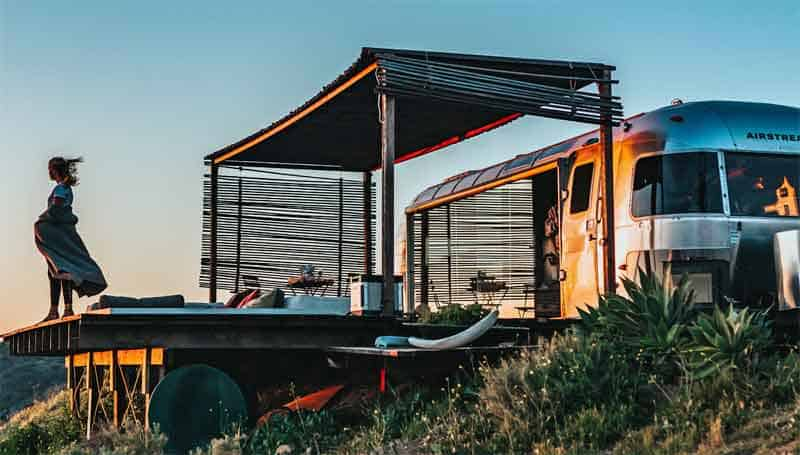 renting an airstream