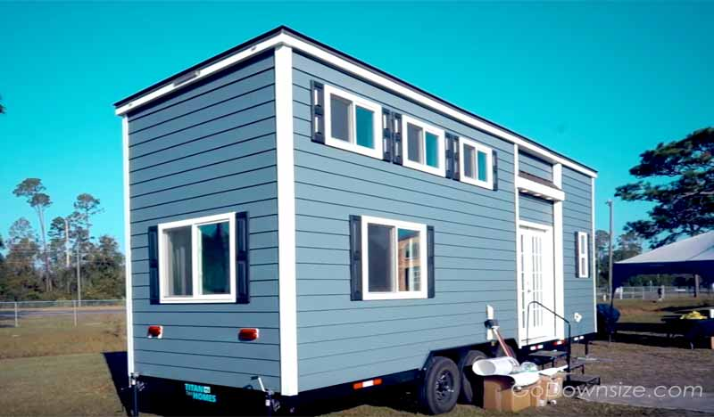 titan tiny homes from the outside
