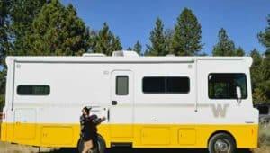 Camper exterior length
