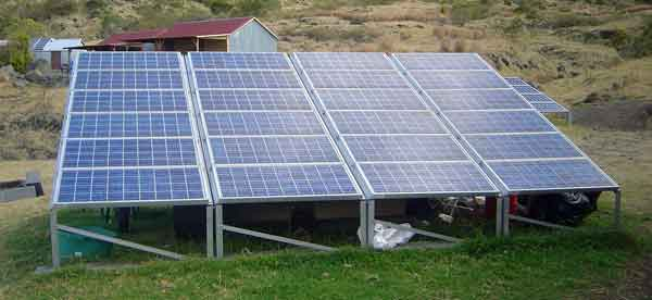 Solar panels for your RV or Tiny House